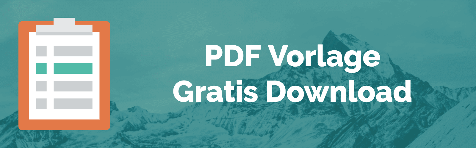 Alpen-Methode PDF Vorlage gratis Download